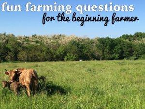 farming questions